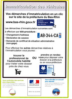Info immatriculation véhicule